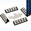 Trenes para domino cubano (pieza)