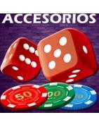 tienda juegos accesorios dados fichas llaveros chips casino cartas